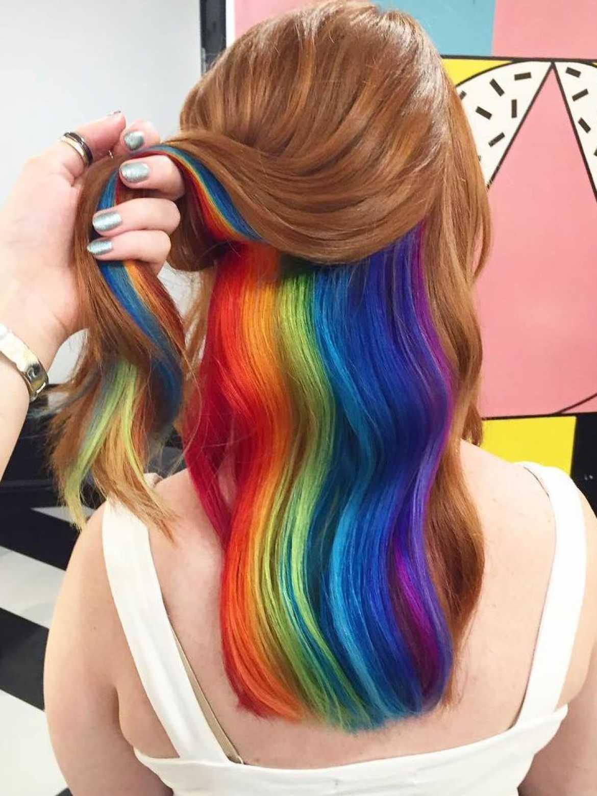 Как сейчас красят волосы фото